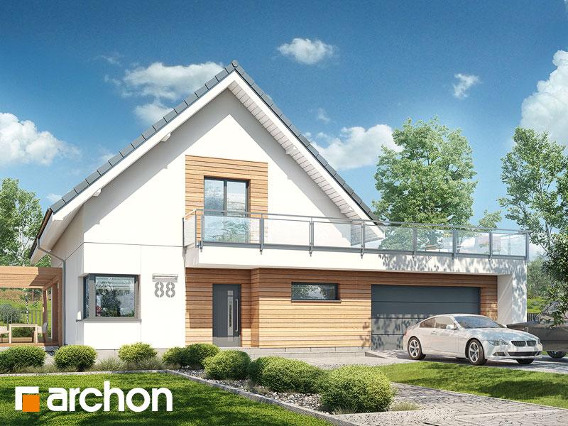 gotowy projekt Dom w amburanach 2 (G2) widok 1