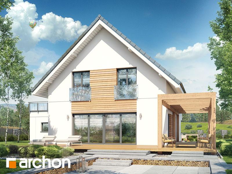 gotowy projekt Dom w amburanach 2 (G2) widok 2