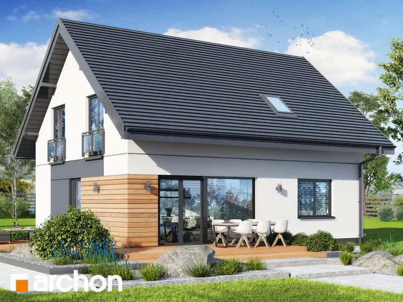 gotowy projekt Dom w malinówkach 11 (E) OZE widok 2