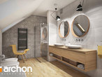projekt Dom w kortlandach (G2P) Wizualizacja łazienki (wizualizacja 3 widok 1)