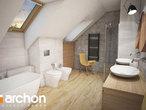 projekt Dom w kortlandach (G2P) Wizualizacja łazienki (wizualizacja 3 widok 2)