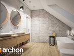 projekt Dom w kortlandach (G2P) Wizualizacja łazienki (wizualizacja 3 widok 3)