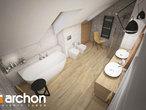 projekt Dom w kortlandach (G2P) Wizualizacja łazienki (wizualizacja 3 widok 4)