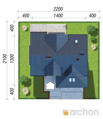 projekt Dom w kortlandach (G2P) sytuacja