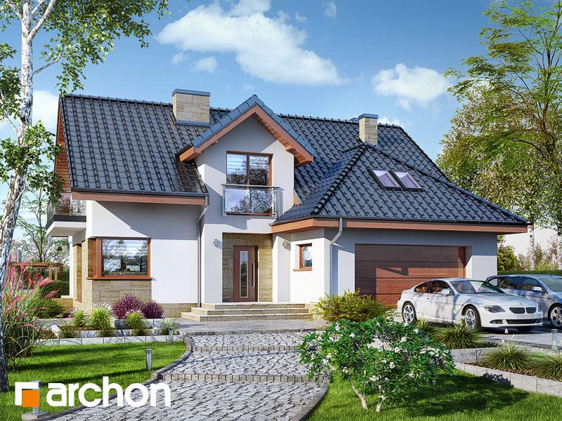 gotowy projekt Dom w kortlandach (G2P) widok 1