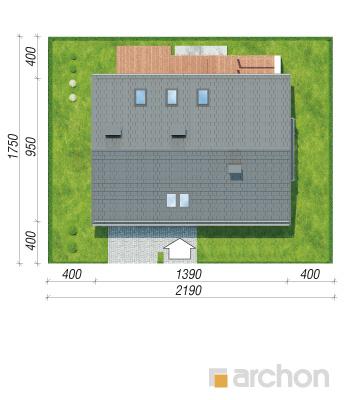 projekt Dom w serduszkach sytuacja