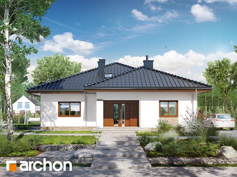 gotowy projekt Dom w jonagoldach 2 (T) widok 1