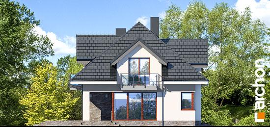 Elewacja boczna projekt dom w sliwach 2 g  265