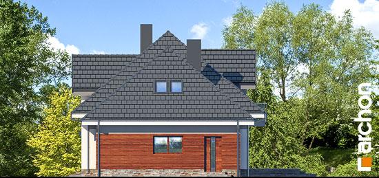 Elewacja boczna projekt dom w sliwach 2 g  266