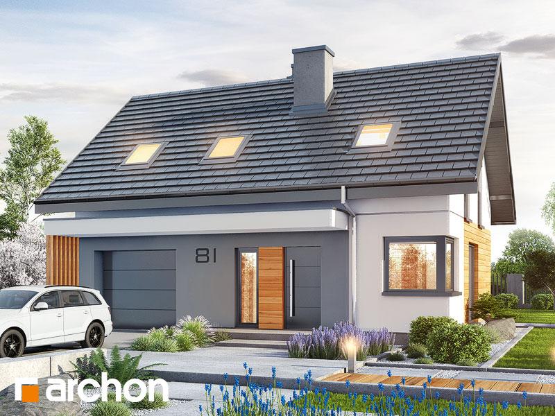 gotowy projekt Dom w borówkach (GN) widok 1