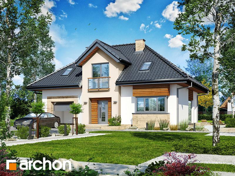 gotowy projekt Dom w kalateach 6 (T) widok 1