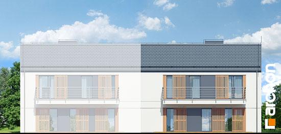 Elewacja ogrodowa projekt dom w halezjach r2b  267