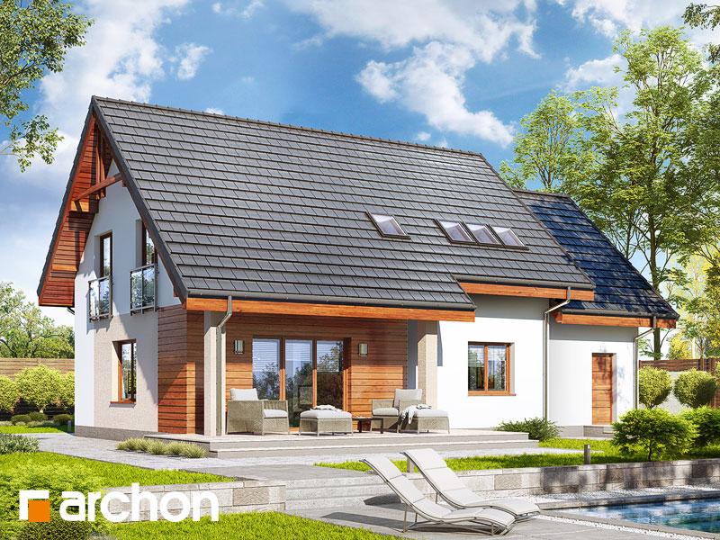 gotowy projekt Dom w zielistkach 5 (G) widok 1