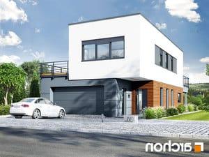 projekt Dom w topinamburach (G2A) lustrzane odbicie 2