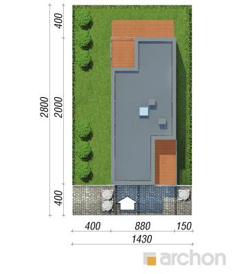projekt Dom w topinamburach (G2A) sytuacja