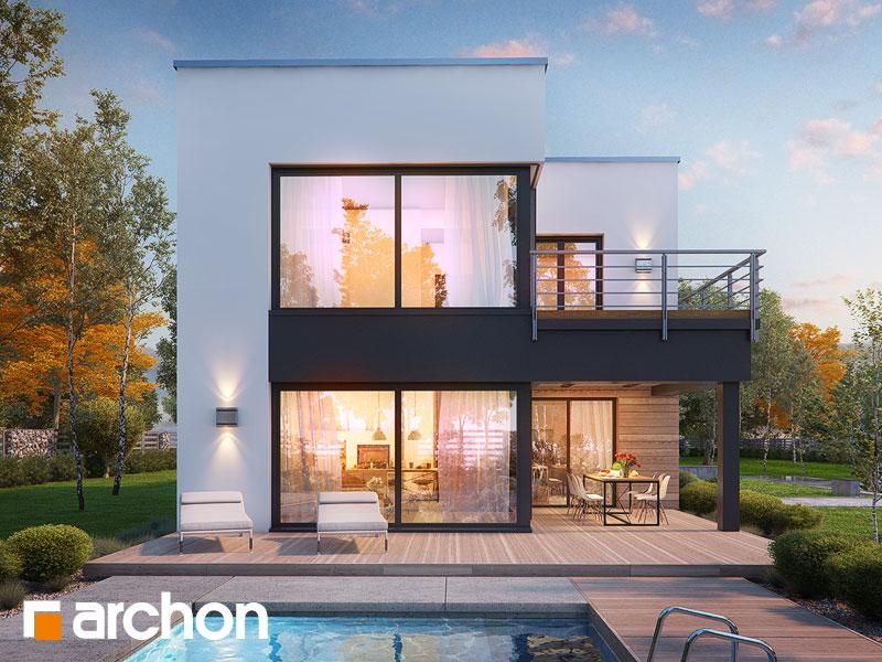 gotowy projekt Dom w topinamburach (G2A) widok 1