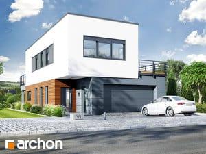 projekt Dom w topinamburach (G2A) widok 2