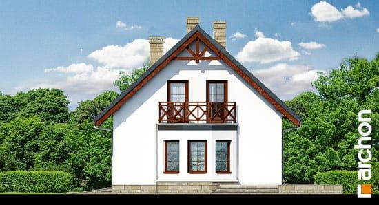 Elewacja boczna projekt dom w skalniakach 3 ver 2  265