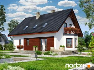 projekt Dom w skalniakach 3 lustrzane odbicie 2