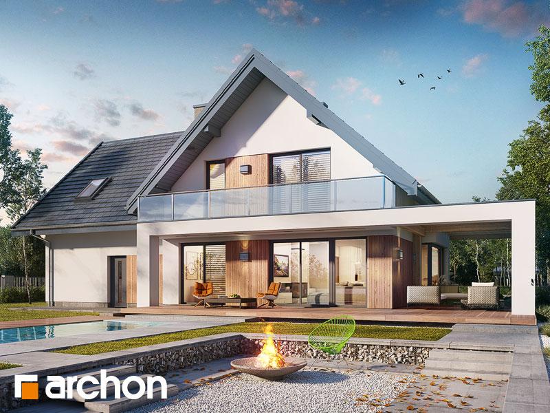 gotowy projekt Dom w amorfach 2 (G2) widok 1