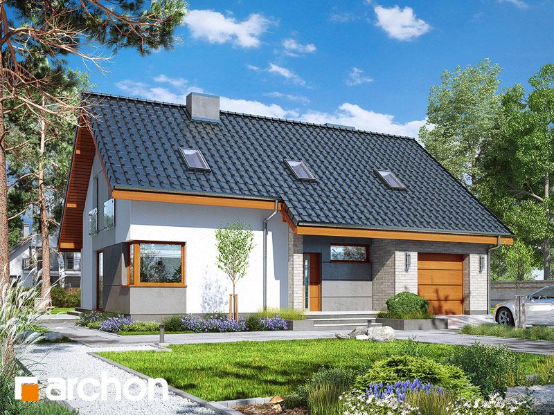 gotowy projekt Dom w żurawkach 4 (T) widok 1