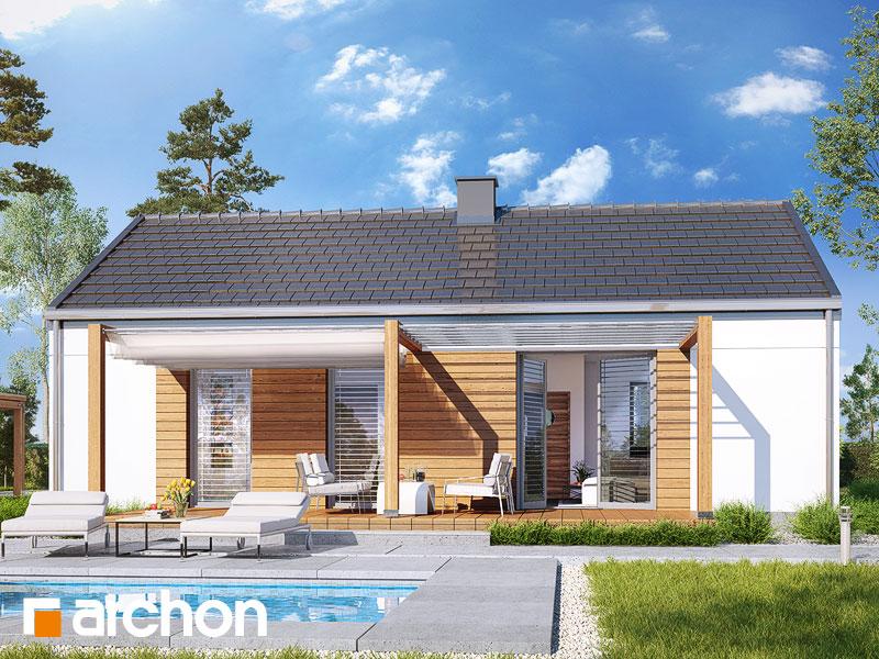 gotowy projekt Dom w kruszczykach 6 widok 1