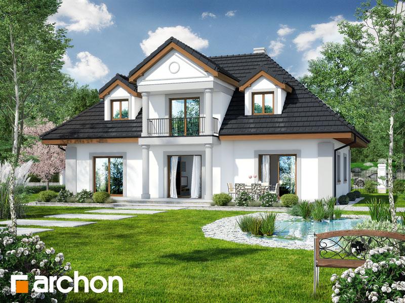 gotowy projekt Dom w astrach widok 2