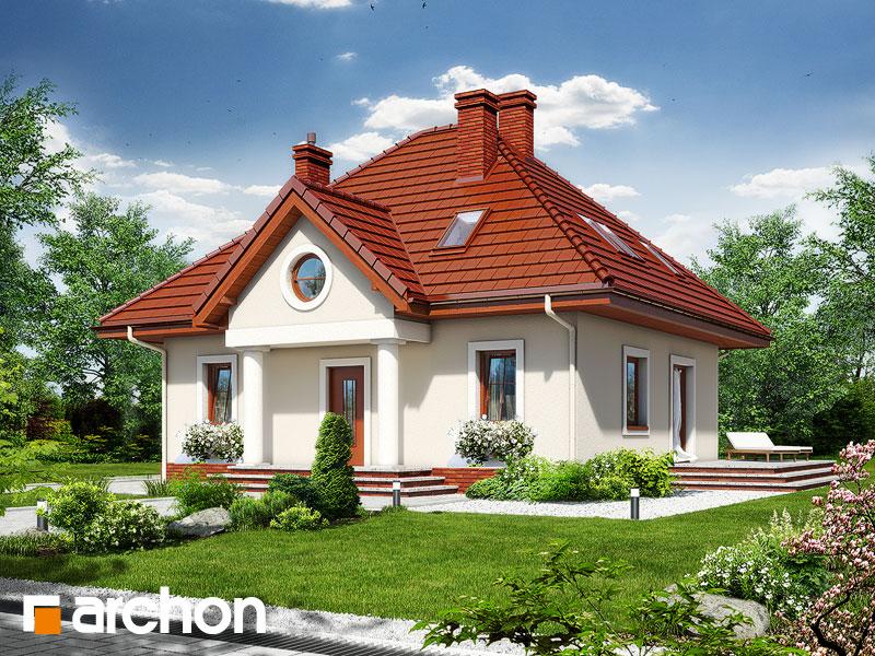 gotowy projekt Dom w truskawkach widok 1
