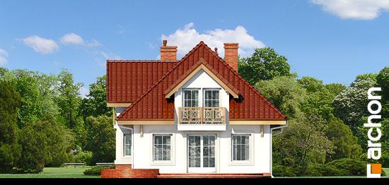 Elewacja ogrodowa projekt dom w fuksjach 4 ver 2  267