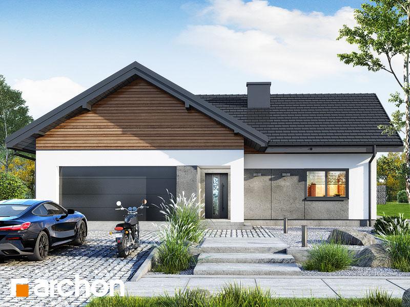 gotowy projekt Dom w widliczkach 3 (G2) widok 1