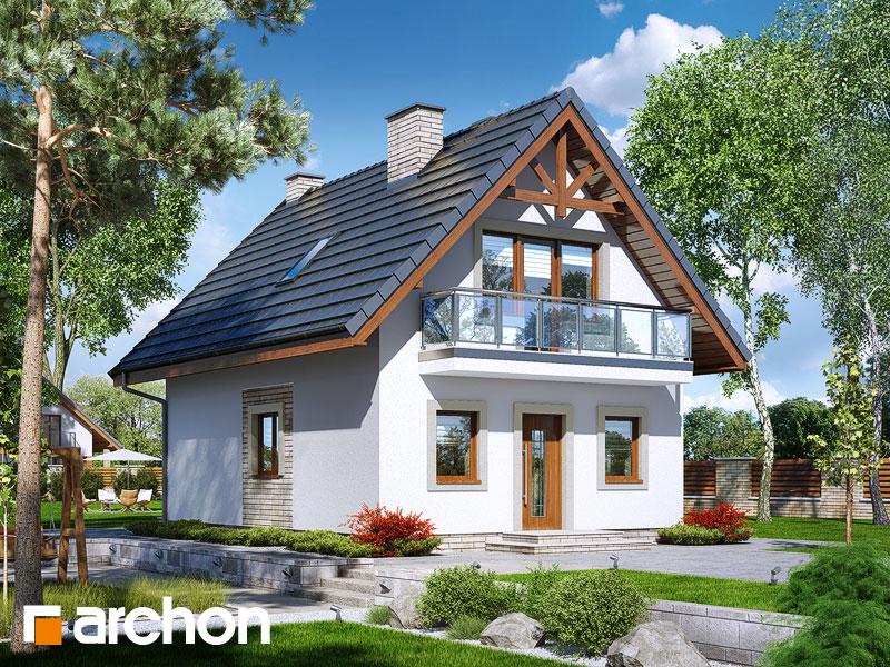 gotowy projekt Dom w sasankach (A) widok 1