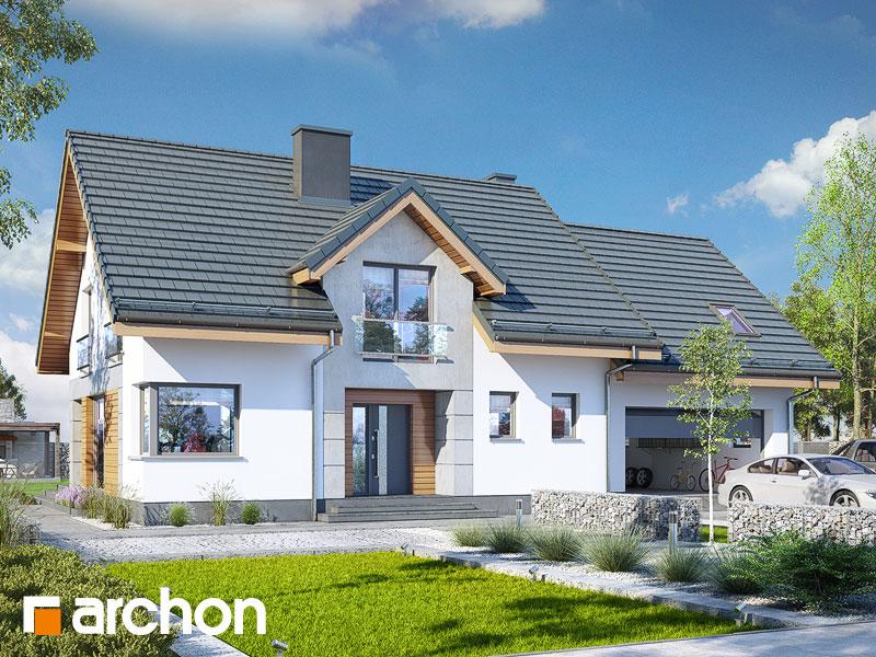 gotowy projekt Dom w srebrzykach 2 (G2T) widok 1