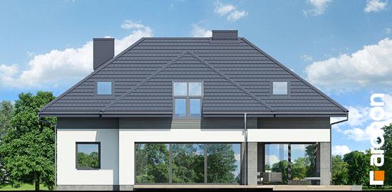Elewacja ogrodowa projekt dom w maciejkach g2  267