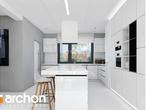 projekt Dom w maciejkach (G2) Wizualizacja kuchni 1 widok 1