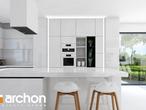 projekt Dom w maciejkach (G2) Wizualizacja kuchni 1 widok 2