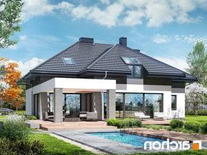 projekt Dom w maciejkach (G2) lustrzane odbicie 1