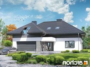 projekt Dom w maciejkach (G2) lustrzane odbicie 2