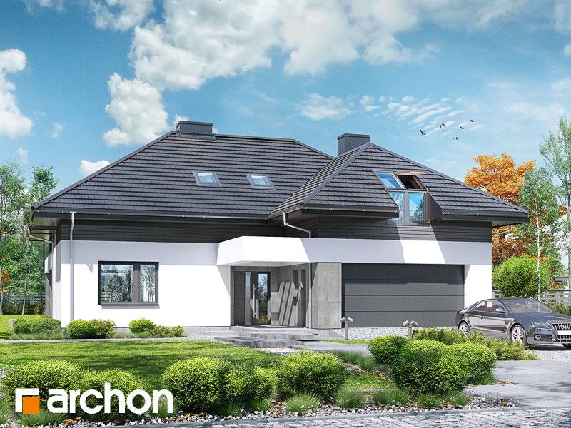 gotowy projekt Dom w maciejkach (G2) widok 1