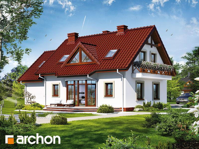 gotowy projekt Dom w daliach 2 widok 1
