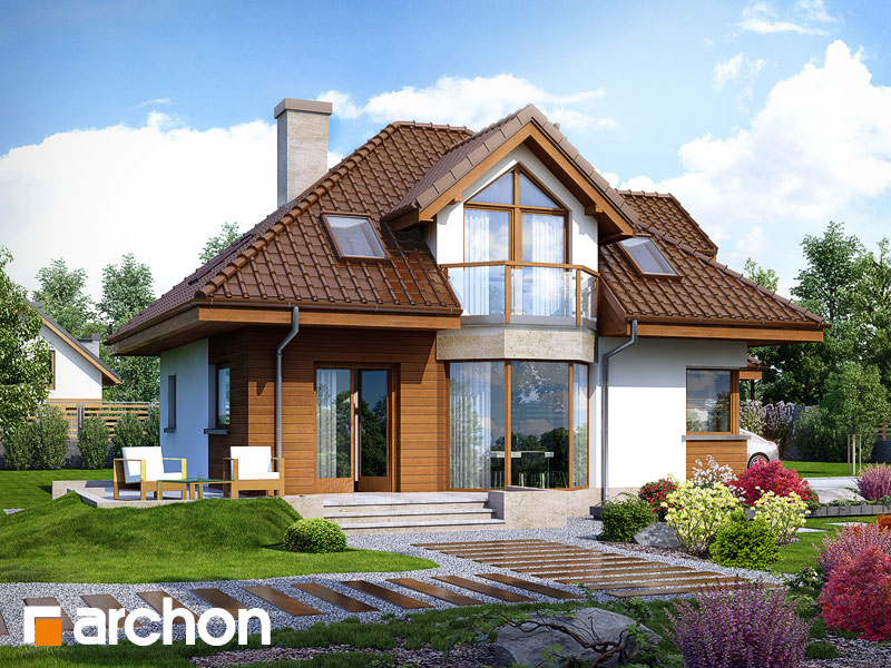 gotowy projekt Dom w rukoli (N) widok 1