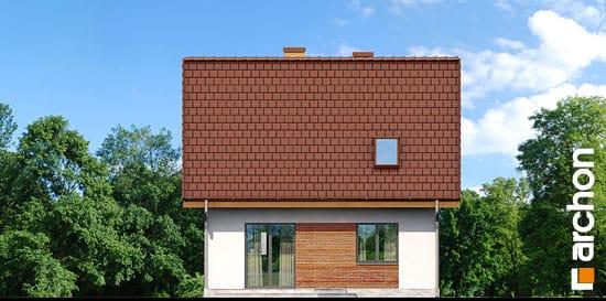 Elewacja ogrodowa projekt dom w poziomkach ver 2  267