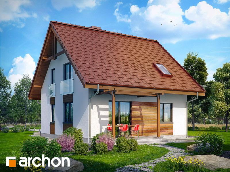 gotowy projekt Dom w poziomkach widok 1