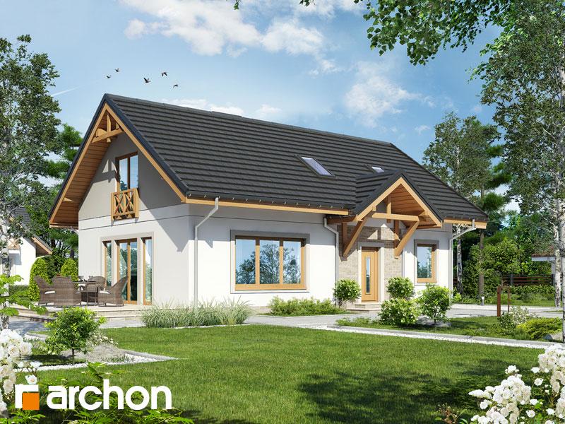 gotowy projekt Dom w arnice (PD) widok 2