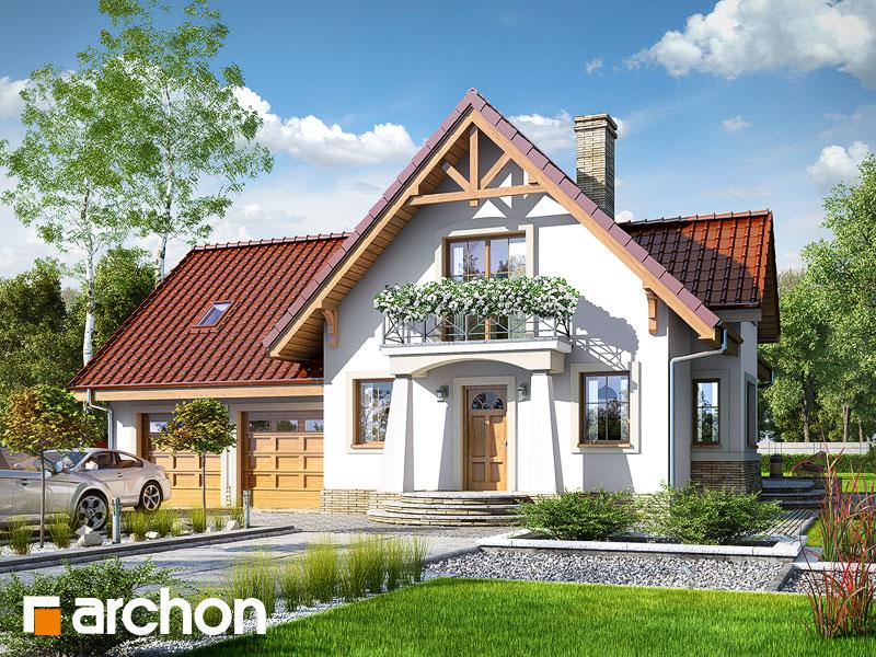 gotowy projekt Dom w morelach (G2) widok 1