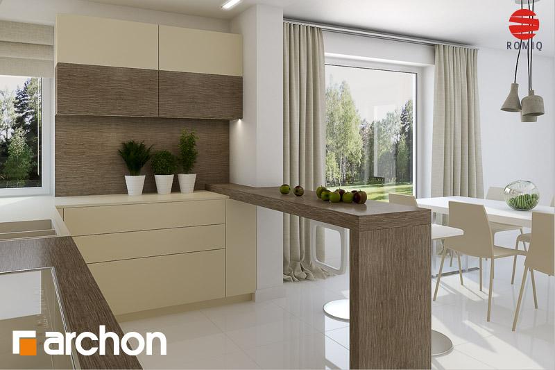 Aranżacje kuchni do projektów domów - ARCHON+ - strona 4