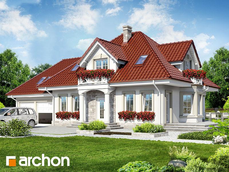 gotowy projekt Dom w lewkoniach (G2) widok 1