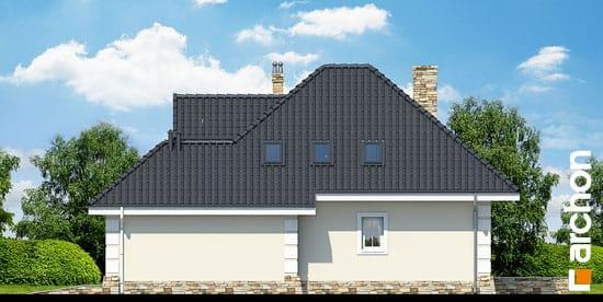 Elewacja boczna projekt dom w rukoli p ver 2  265