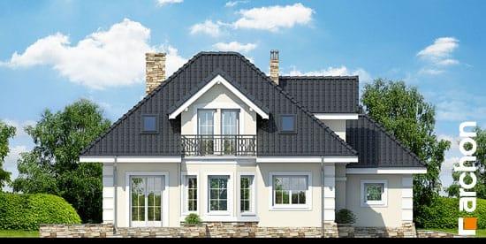 Elewacja boczna projekt dom w rukoli p ver 2  266