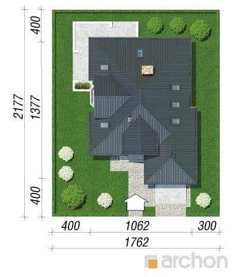 projekt Dom w rukoli (P) sytuacja