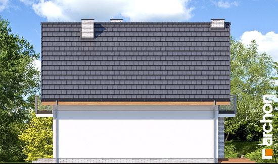 Elewacja boczna projekt dom w sasankach 3  265